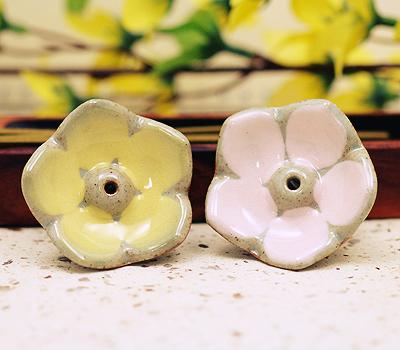 연꽃 향꽂이(노랑,분홍 택1)  / 불교용품,제사용품,향