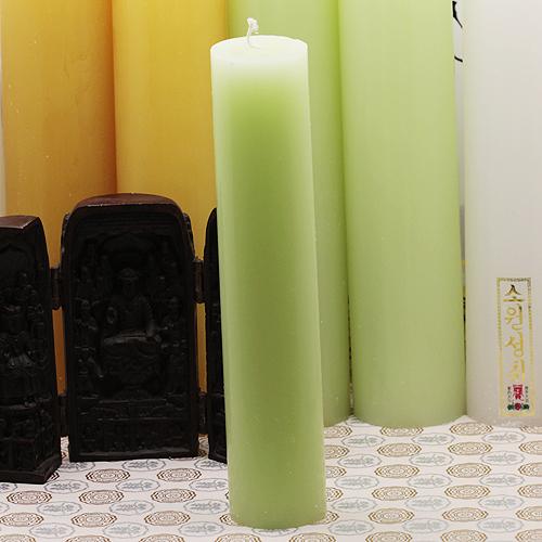 [삼환양초]천연 약쑥 양초-기도초(돈타레)/ 불교용품,제사용품,초,기도초,양초