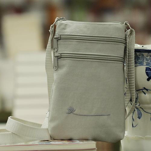 연꽃세상 여권 가방[中/大 택1] / 불교용품/휴대용 염주주머니