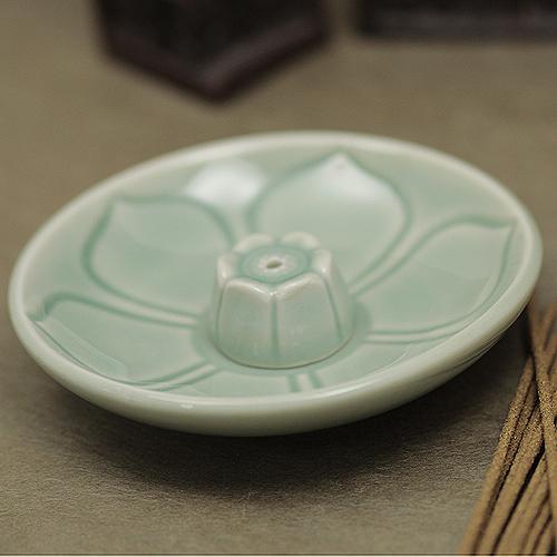 9호 향꽂이_청자  / 불교용품,제사용품,향