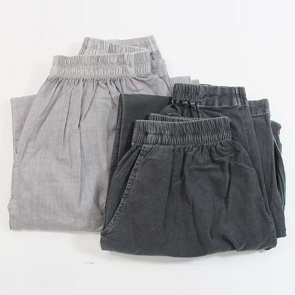 여름용 법복 (하의) 여성용 - 법복바지/허리밴드바지/수행용품