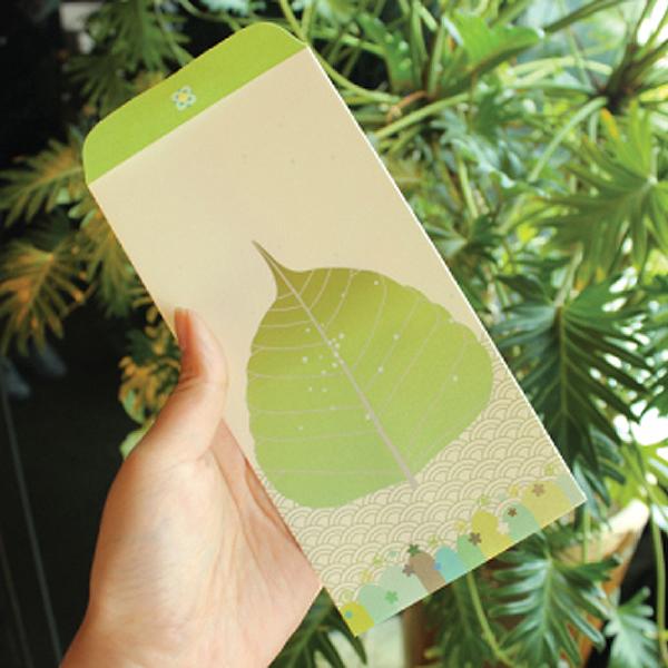 [붓다아티스트] 보리수잎 봉투 - 불전봉투/시주봉투/보시봉투/용돈봉투/불교용품