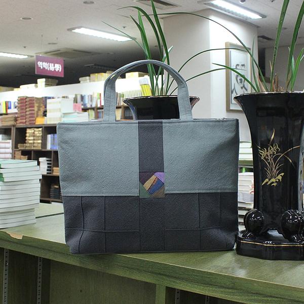 조각포인트 가방 (가로형) - 손가방/경전가방/불자가방/신행용품