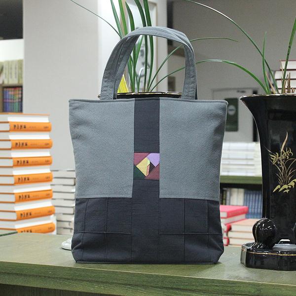 조각포인트 가방 (세로형) - 손가방/경전가방/불자가방/신행용품