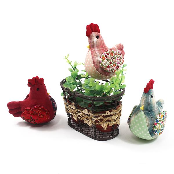[핸드메이드] 손바느질 닭 인형 (3종 택1) - 정유년 붉은 닭의 해 기념